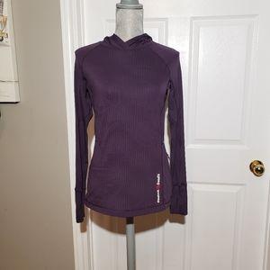 REEBOK CROSSFIT hooded long sleeve